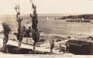 RP: BADDECK , Cape Breton , Nova Scotia , 1919 ; Bras D'Or Lakes , Lighthouse
