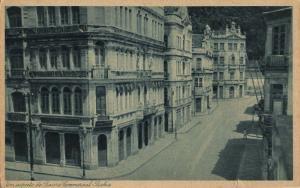 brazil, SALVADOR BAHIA, Aspecto do Bairro Commercial (1920s) Catilina Postcard