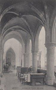 MORET , France, 1900-1910s ; Church Interior