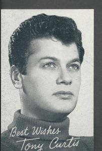 Tony Curtis Arcade Card