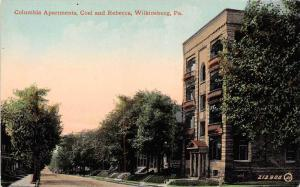 Pennslyvania Wilkinsburg  Columbia Apartments, Coal and Rebecca Streets