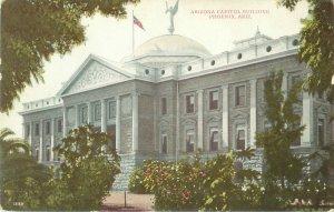 Arizona State Capitol Building Pre-1915 Divided Back Postcard