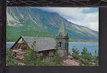 Old Log Church,Lake Bennett,BC,Canada Postcard BIN