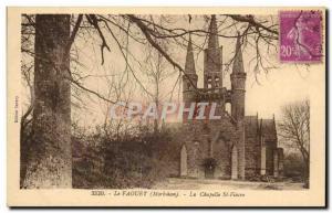 Le Faouet Old Postcard The Chapel St Fiacre