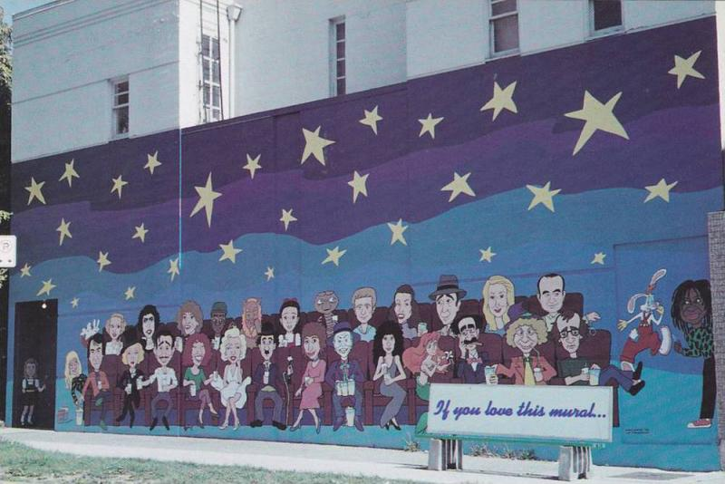 Vancouver's Best Loved Mural at Risk, Denman & Barclay Intersection , B.C.  ,...