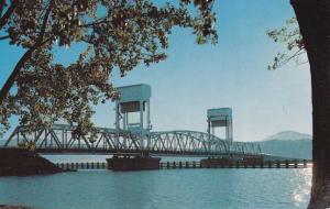Okanagan Lake Floating Bridge - Ontario, Canada