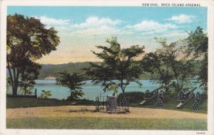 ROCK ISLAND, Illinois; Sun Dial, Arsenal, 10-20s