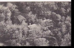 Vermont Rutland Aerial View Of  Long Trail Lodge Albertype