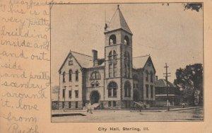 STERLING , Illinois, 1907 ; City Hall