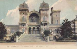 Les Thermes Salins, La Facade, Biarritz (Pyrénées-Atlantiques), France, 190...