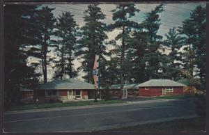 Forest Lake Motel,Grand Rapids,MN Postcard BIN