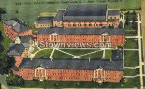NC State College in Raleigh, North Carolina
