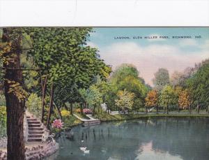 15368 IN Richmond  1940's  Glen Miller Park   the Lagoon