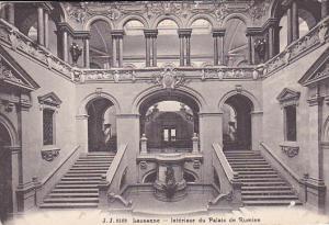 Lausanne , Vaud , Switzerland , 00-10s ; Interieur du Palais de Rumine