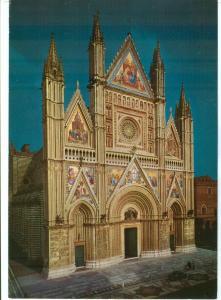 Italy, ORVIETO, Duomo, Lorenzo Maitani, unused Postcard