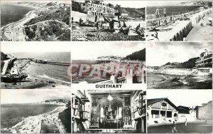 Postcard Modern Guethary Vue Generale Casino The Beach Port