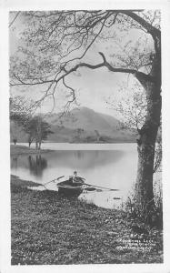 Cumbria Grasmere Lake and Helm Crag Boat (English Lake District)