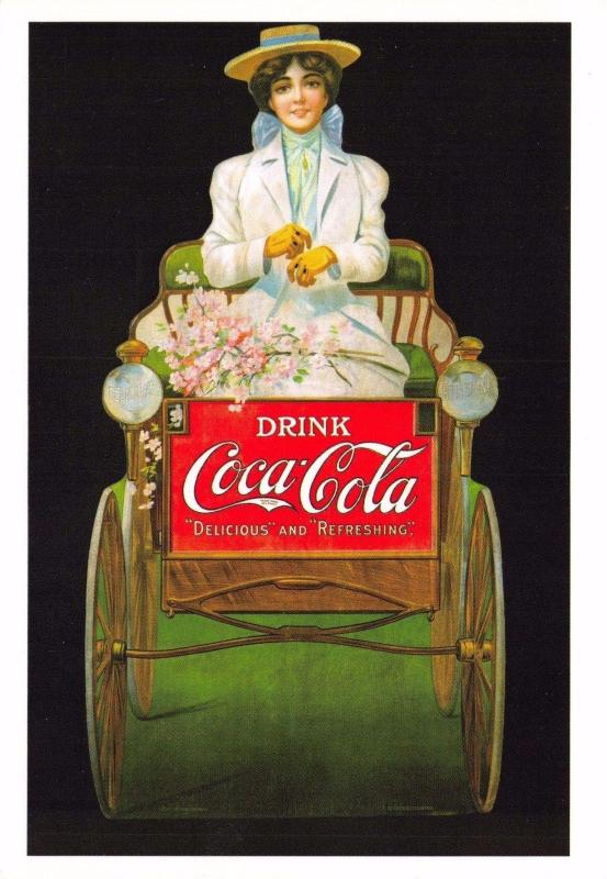 Postcard Drink Coca-Cola 1907 Advert Reproduction Card No.2394