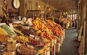 Louisiana~The French Market~1960 Postcard