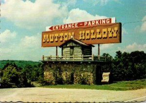 Missouri Branson Mutton Hollow Entrance Where Harold Bell Wright Wrote ...