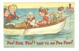 Poo! Paw, Poo! Can ye no Poo Paw? Family in  boat, 00-10s