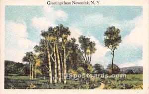Greetings from Neversink NY 1918