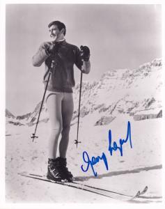 George Lazenby On Her Majestys Secret Service James Bond 007 Large Hand Signe...