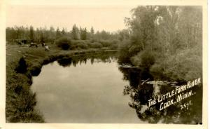 MN - Cook. Little Fork River - RPPC
