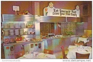 Pennsylvania Lancaster Interior Miller's Smorgasbord Restaurant