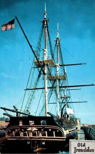Massachusetts Boston Navy Yard U S S Constitution Old Ironsides