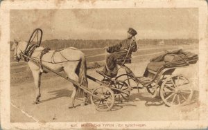 Russia Russische Typen Ein Kutschwagen 03.38