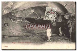 Old Postcard Cave Caves of Hercules Tangier Morocco