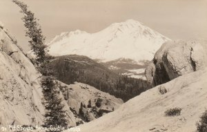 RP: MT SHASTA , California , 1920-30s ; From Castle Crags