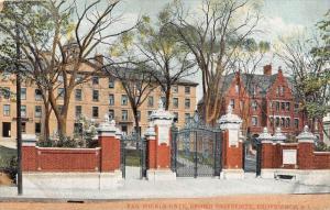 Rhode Island Providence Brown University   Van Wickle Gate