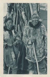 Cercle Arctique (ALASKA) , 1910s; Eskimo Couple