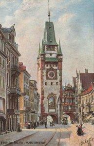 FREIBURG i/B , Germany, 1900-10s ; Martinstor : TUCK 7604