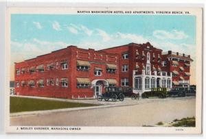 Martha Washington Hotel & Apartments, Virginia Beach VA