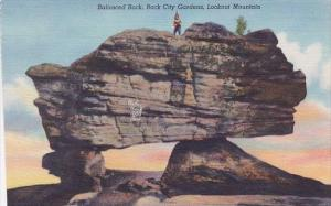 Tennessee Chattanooga Lookout Mountain Balanced Rock City Gardens
