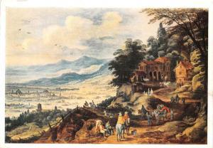Joos de Momper 1564-1635 Die Stadt im Tale Dresden Staatliche Kunstsammlungen