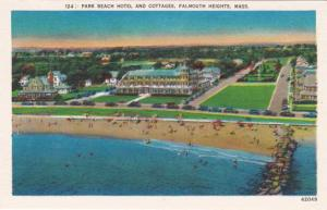 Park Beach Hotel and Cottages Falmouth Heights MA Cape Cod Massachusetts - Linen