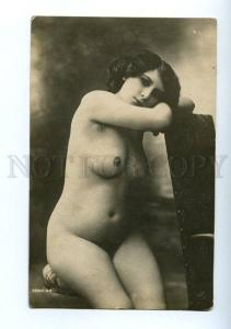 128971 NUDE Woman Plump BELLE Vintage PHOTO JA #68 PC