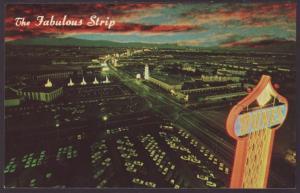 Las Vegas Strip at Night,Las Vegas,NV Postcard
