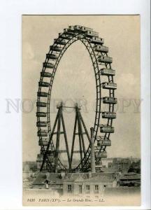 262203 FRANCE PARIS Grand Roue Ferris wheel Vintage postcard
