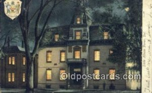 Dover, Delaware, DE State Capital USA 1908 light wear, writing on front, post...
