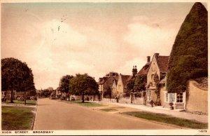 England Broadway High Street 1939
