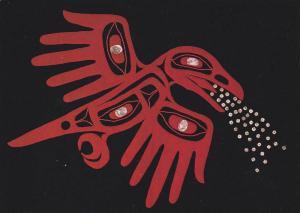 Contemporary Native Art, Beau Dick, Kwagiulth, Hands of Creation 1988, Vancou...