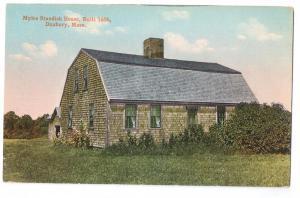 Miles Standish House Doxbury Massachusetts MA