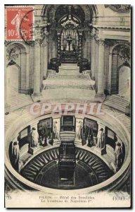 Postcard Old Paris Hotel des Invalides Napoleon I's Tomb