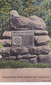 Virginia Petersburg Pocahontas Basin In Central Park 1946