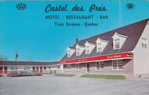 Exterior,  Castel des Pre's,  Motel- Restaurant- Bar,  Troi Rivieres,  Quebec...